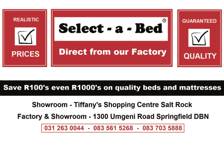 select a bed  advert